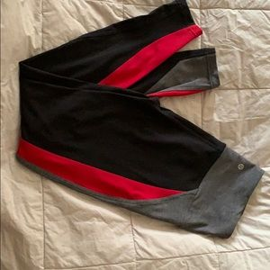 Lululemon color block leggings